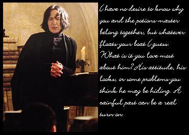 Snape - Yummy!