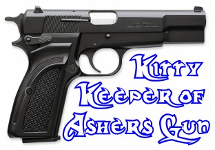 I'm the Keeper of Asher's Gun!