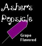 I Adopted Asher's Popsicle!  Yummy!