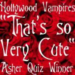 I Passed the Asher Quiz @ Hollywood Vampires!