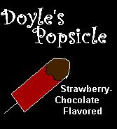 I Adopted Doyle's Popsicle!  Yummy!