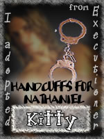 I Adopted Handcuffs for Nathaniel from Executioner!
