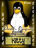 I Adopted Anita's Penguin Sigmund from Executioner!