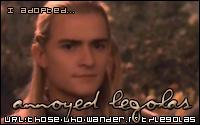 I Adopted Annoyed Legolas!  Ain't He Cute!?!