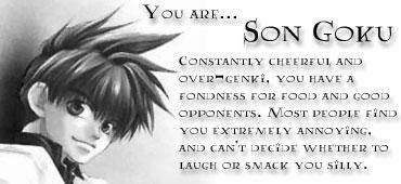 You are...Son Goku!