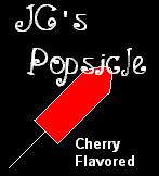 I Adopted Jean-Claude's Popsicle!  Yummy!