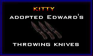 I Adopted Edward's Throwing Knives @ Edward's Lair