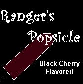 I Adopted Ranger's Popsicle!  Yummy!