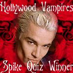 I Passed the Spike Quiz @ Hollywood Vampires!